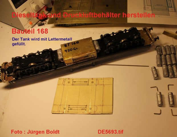 Das dritte Projekt 2014 - Die Henschel-BBC DE2500 Lok in 0 - Seite 2 DE5693