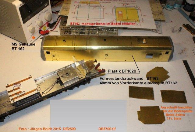 Das dritte Projekt 2014 - Die Henschel-BBC DE2500 Lok in 0 - Seite 2 DE5700