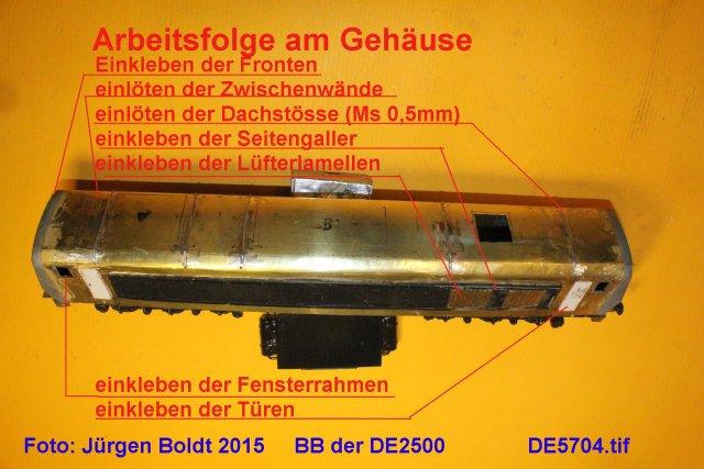Das dritte Projekt 2014 - Die Henschel-BBC DE2500 Lok in 0 - Seite 2 DE5704