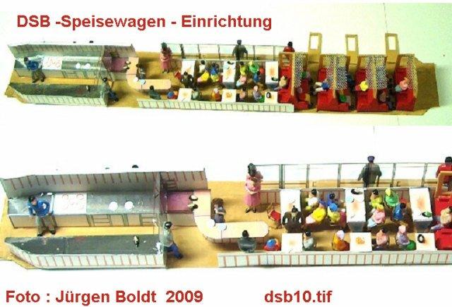 DSB Museumszug in Skala 0 DSB10