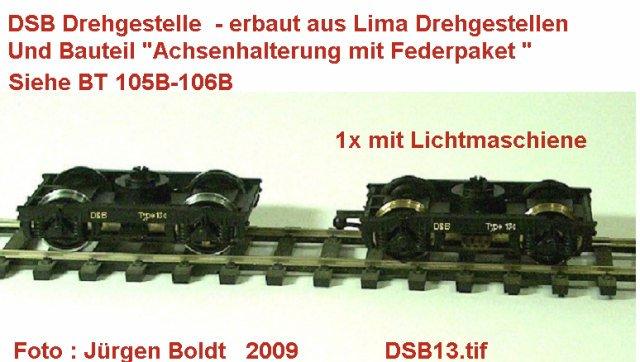 DSB Museumszug in Skala 0 DSB13