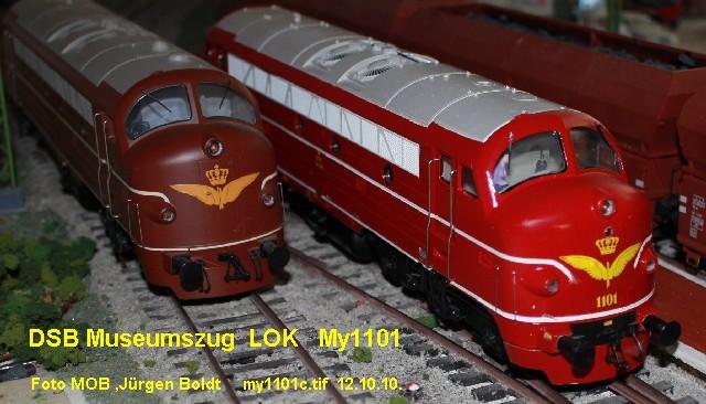 DSB Museumszug in Skala 0 DSB15