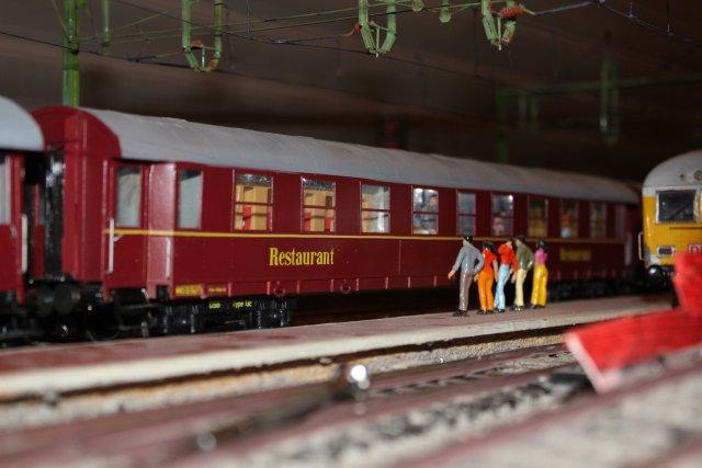 DSB Museumszug in Skala 0 DSB18