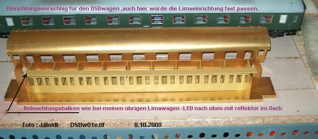 DSB Museumszug in Skala 0 DSB5