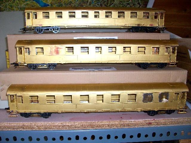 DSB Museumszug in Skala 0 DSB7