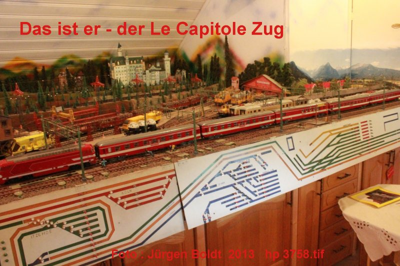 "Mein "" Le Capitole Zug "" in 0  HP3758"