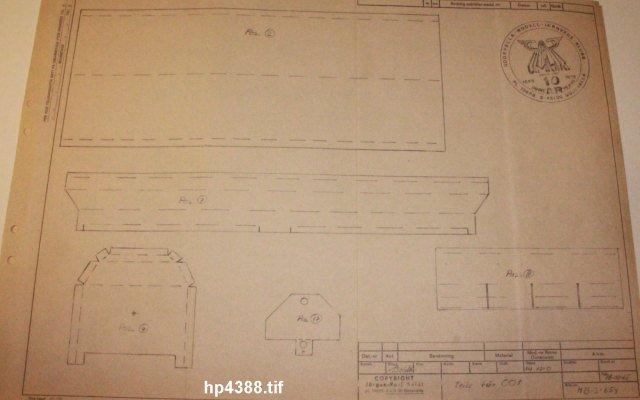 Güterwagen bei der MOB HP4388