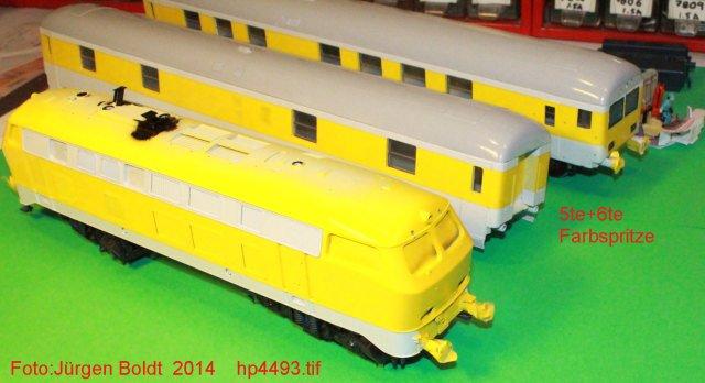 Der Fahrwegmessungszug der DB HP4493