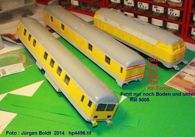 Der Fahrwegmessungszug der DB HP4496