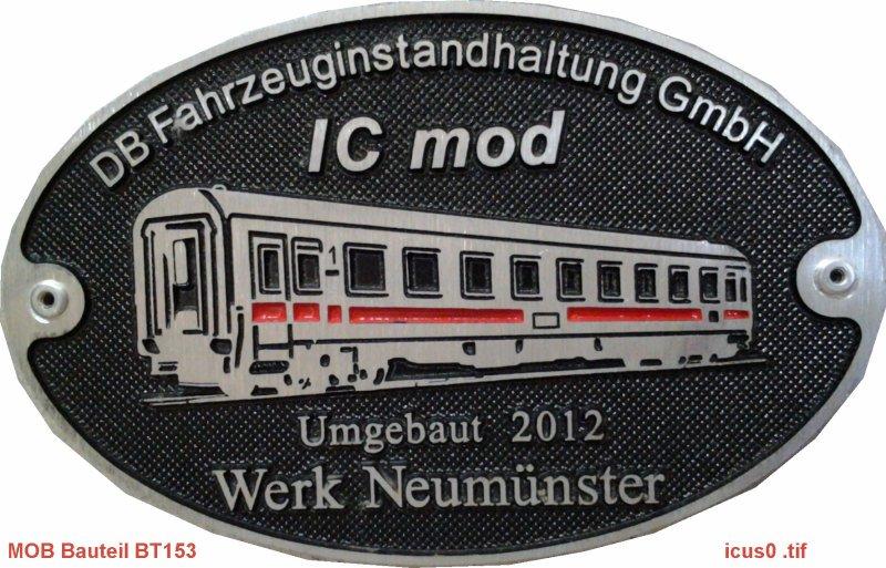 2tes Projekt 2014 -Der IC 1124 Kiel in 0 ICUS0
