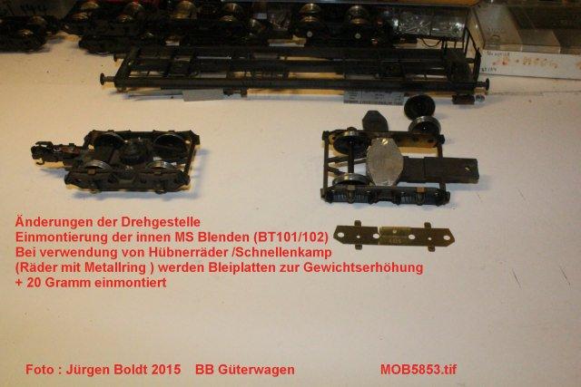 Güterwagen bei der MOB MOB5853