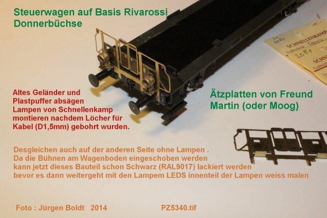 """Projekt 6-2014 - Der Pendelzug """"Anno dazumal"""" PZ5340"""