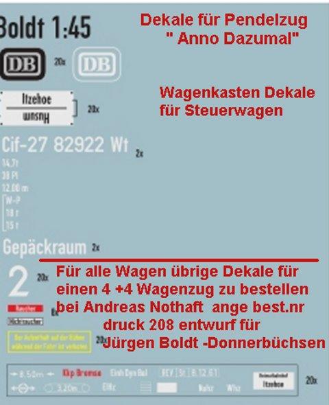 """Projekt 6-2014 - Der Pendelzug """"Anno dazumal"""" - Seite 2 PZDEK1"""