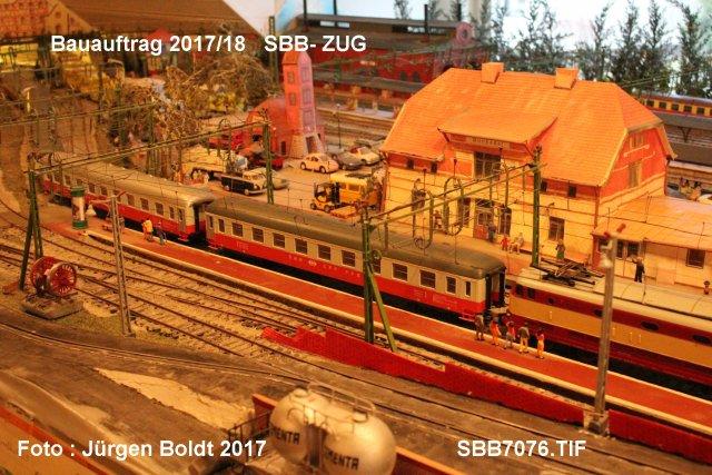 Das Munkedal - Oberstdorf - Bahn Projekt 1:45 SBB7076