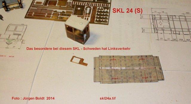 Baubericht des SKL 24(S) für Spur 0 SKL24A