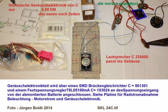 Baubericht des SKL 24(S) für Spur 0 SKL24C