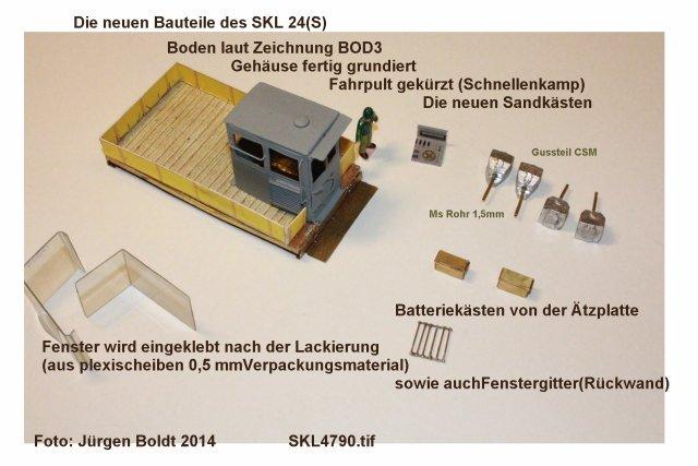 Baubericht des SKL 24(S) für Spur 0 SKL4790