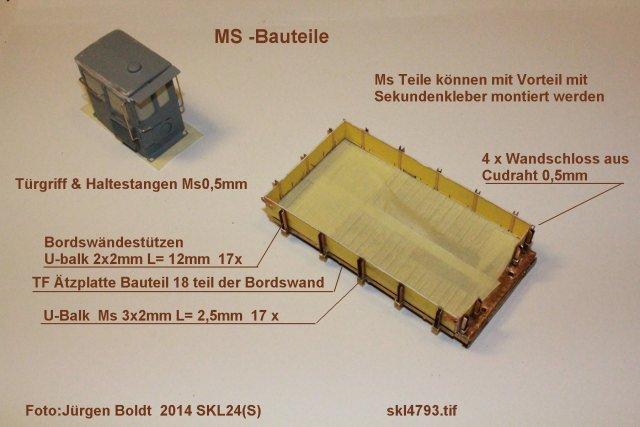 Baubericht des SKL 24(S) für Spur 0 SKL4793