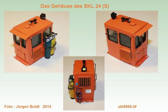 Baubericht des SKL 24(S) für Spur 0 SKL4800