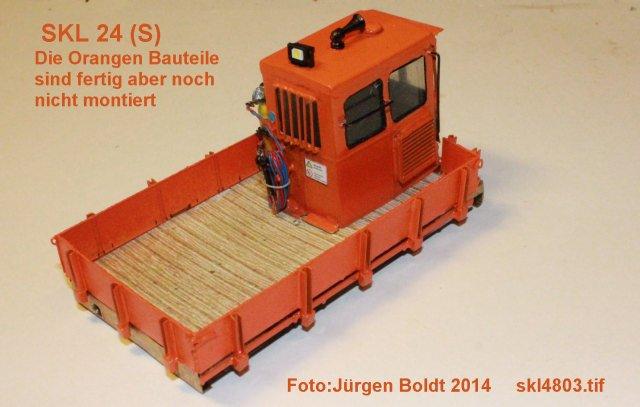 Baubericht des SKL 24(S) für Spur 0 SKL4803