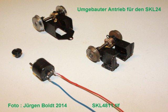 Baubericht des SKL 24(S) für Spur 0 SKL4811