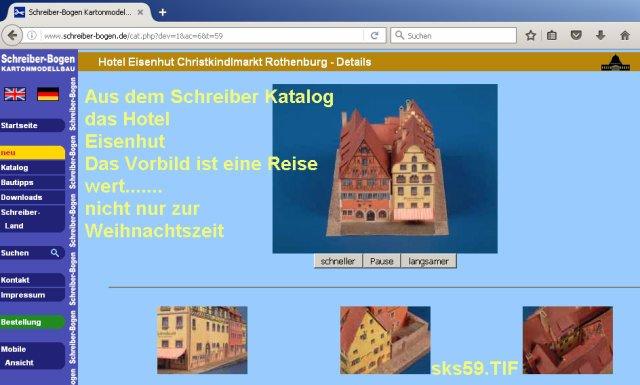 Rothenburg ob der Tauber 1:160 Schreiber Bogen - Seite 2 SKS59