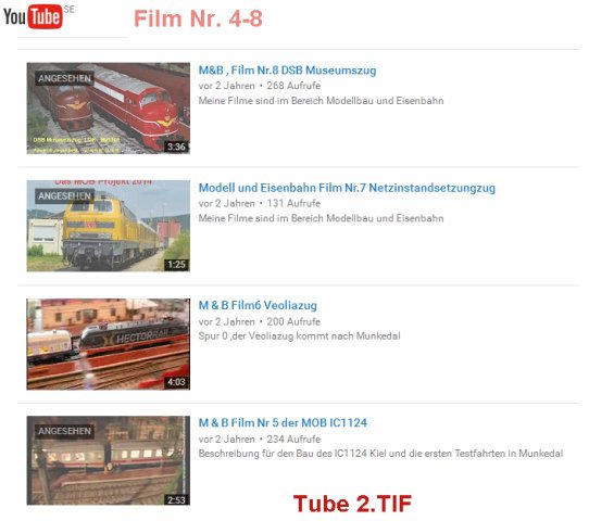 Video's bearbeiten TUBE2