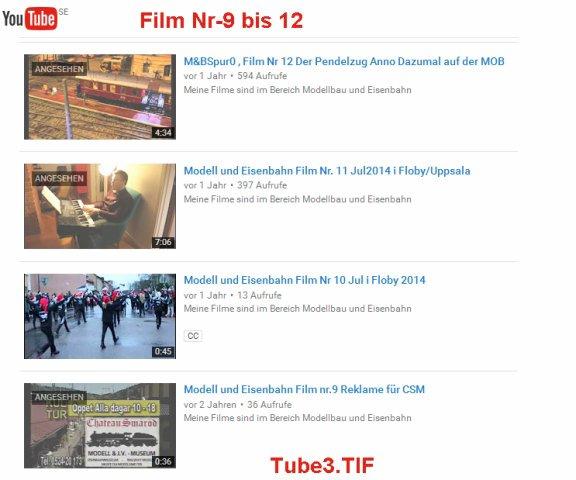 Video's bearbeiten TUBE3