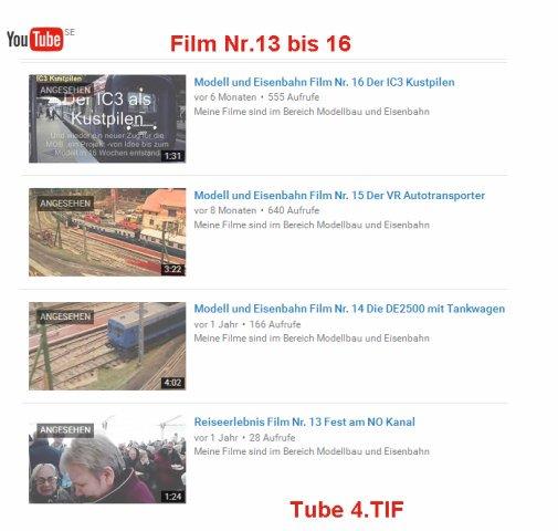Video's bearbeiten TUBE4