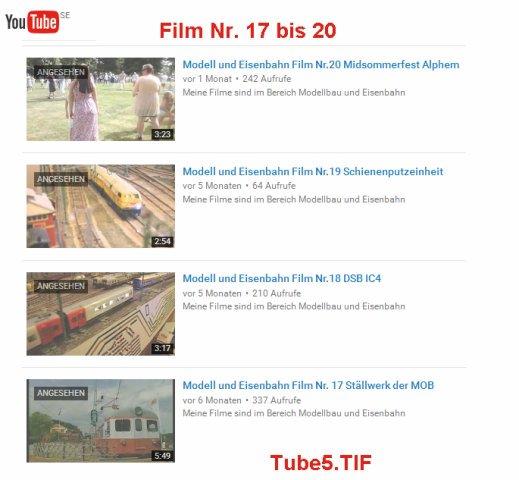 Video's bearbeiten TUBE5