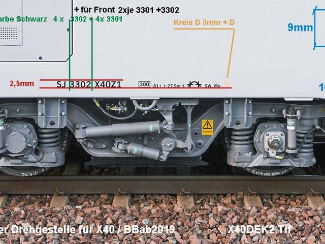 Bauberichte ab 2019  X40DEK2