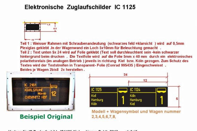 2tes Projekt 2014 -Der IC 1124 Kiel in 0 ZLS3_1