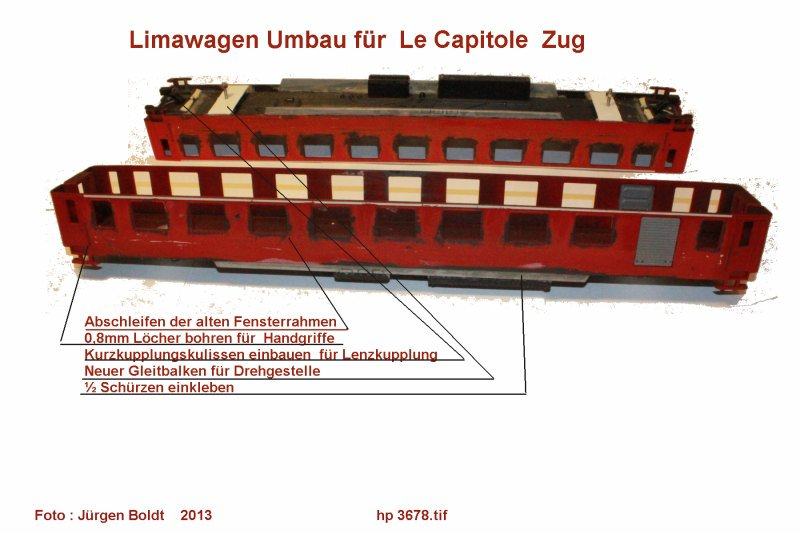"Mein "" Le Capitole Zug "" in 0  Hp3678"