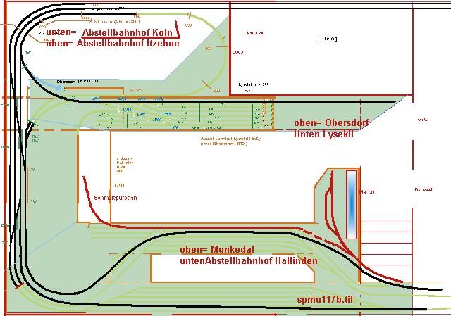 Das Munkedal - Oberstdorf - Bahn Projekt 1:45 SPMU117b
