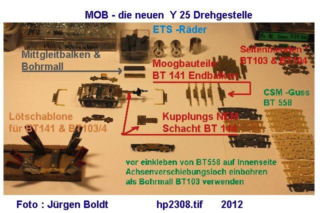 Für meine MOB Anlage - Neue Drehgestelle HP2308