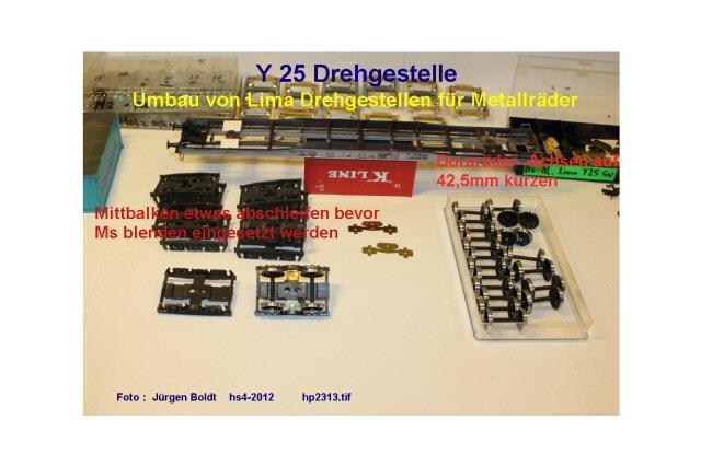 Für meine MOB Anlage - Neue Drehgestelle HP2313
