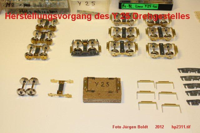 Für meine MOB Anlage - Neue Drehgestelle Hp2311