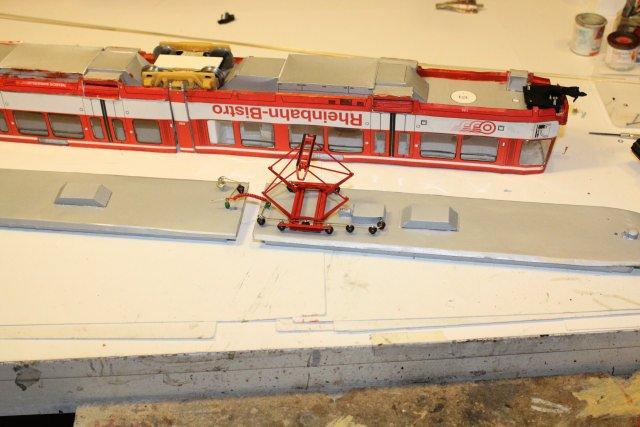 Strassenbahn - Bastelbogen Hp2716