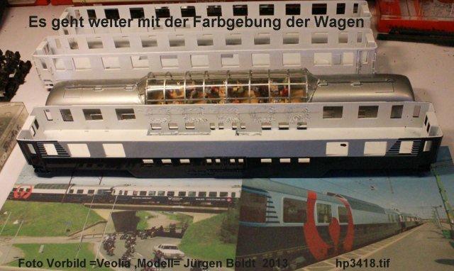 Mein Veolia Zug  ( Malmö – Stockholm ) HP3418