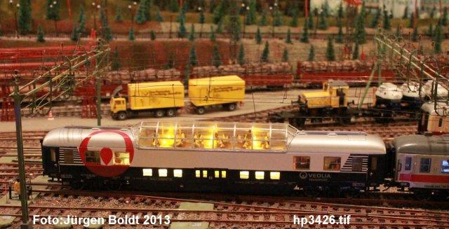 Mein Veolia Zug  ( Malmö – Stockholm ) HP3426