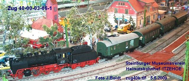 Aus meinem Archiv - Züge bei der MOB Zug40b